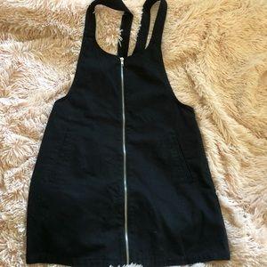 Overall zip dress